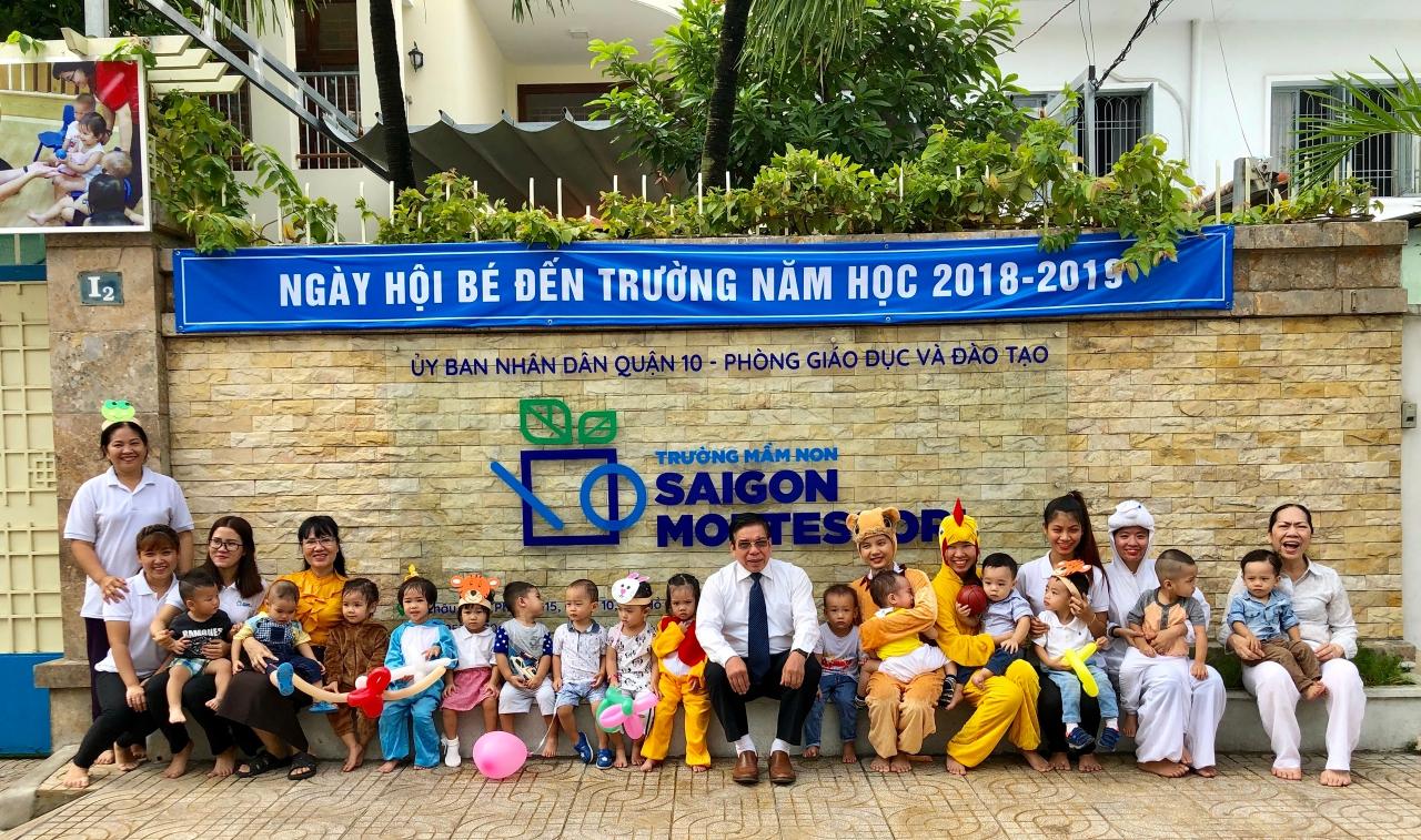 Khai giảng năm học mới 2018 – 2019 Trường Mầm non Saigon Montessori